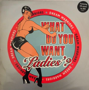 "Dream Warriors ‎- What Do You Want 'Ladies'? (12"") (G-VG/VG-)"
